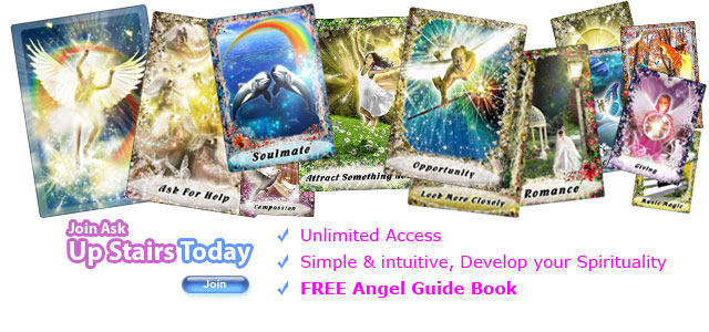 Join for free with our FREE trial FREE Angel Readings from ASkUpStairs.com